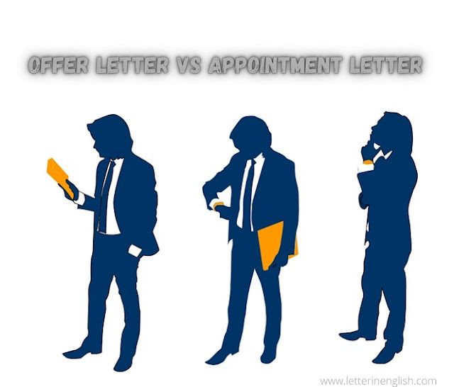 Offer and Appointment letter difference