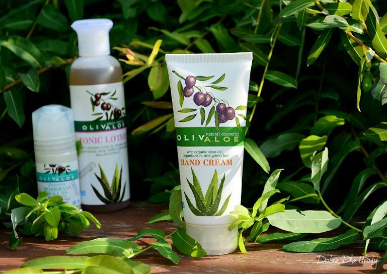 Naturalne greckie kosmetyki Krem do rąk z organiczną oliwą z oliwek i aloesem