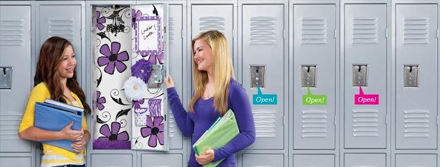 School Locker Wallpaper for Girls