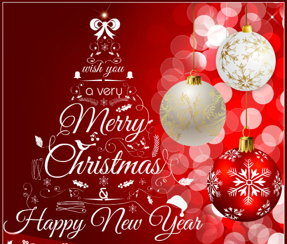 Happy New Year and Merry Christmas Images