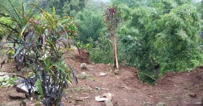Kisatasik | Pemakaman di Tasikmalaya Longsor, Jenazah dan Kerangka Berserakan | Foto Kisatasik