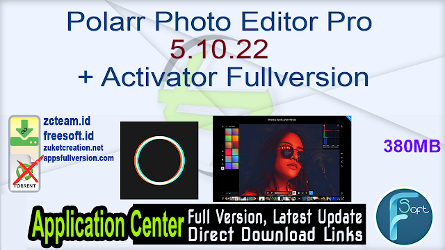 Polarr Photo Editor Pro 5.10.22 + Activator Fullversion