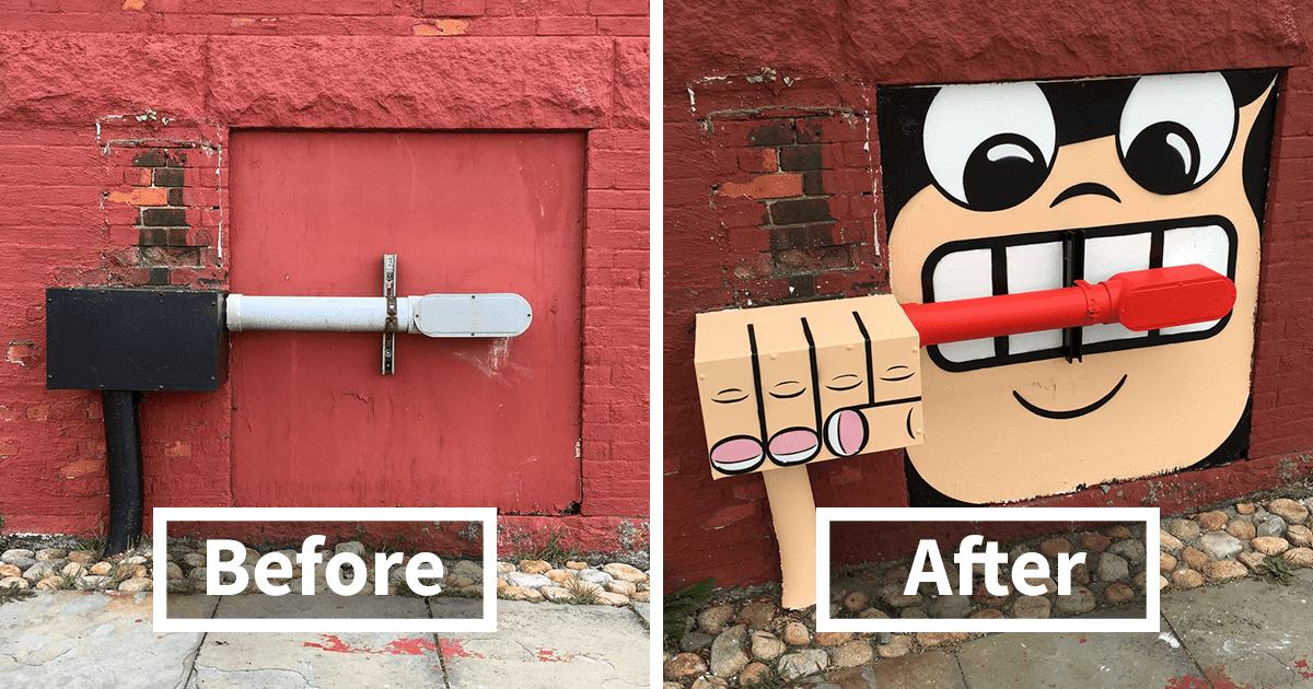 Fascinating Graffiti By A Talented Street Artist In New York (30 Photos)