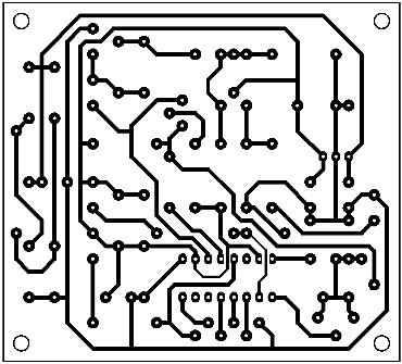 Printed-Circuit-BW-TV-Pattern-Generator