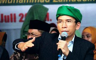 Warga NTB Berharap TGB Masuk dalam Kabinet Jokowi