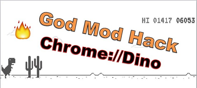 The God Mode Hack : How To Hack Chrome Dino Game 2020