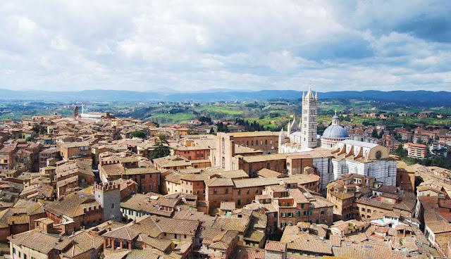 Siena en La Toscana