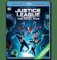JUSTICE LEAGUE VS. THE FATAL FIVE (2019) 1080P HD MKV ESPAÑOL LATINO