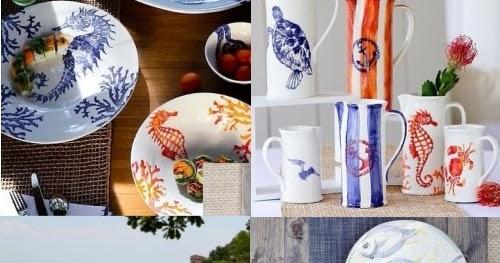 Ocean & Coastal Inspired Tableware by Vietri Made in Italy