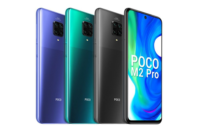 Poco M2 Pro ra mắt với pin 5000 mAh
