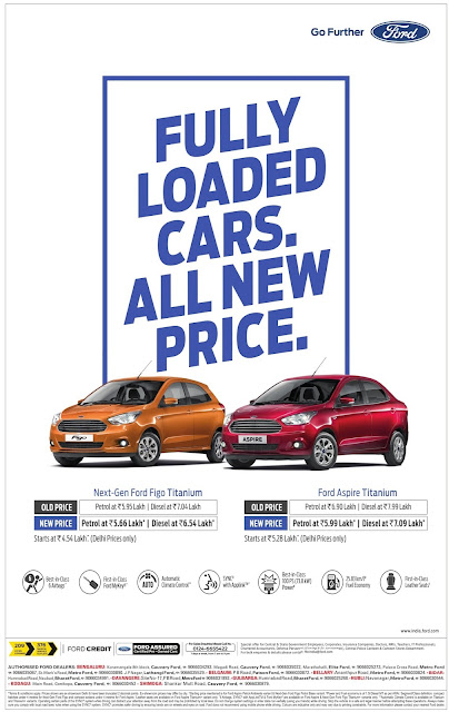 Fully loaded cars. All new price on Ford cars| August  2016 discount offer