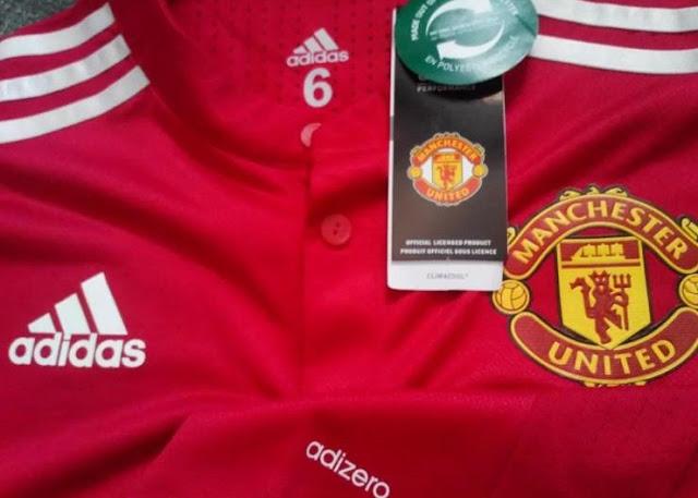 jersey manchester united adizero