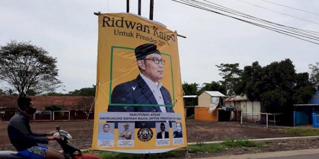 Muncul Baliho Ridwan Kamil Capres 2024 Di Garut, Banser Jabar: Belanda Masih Jauh