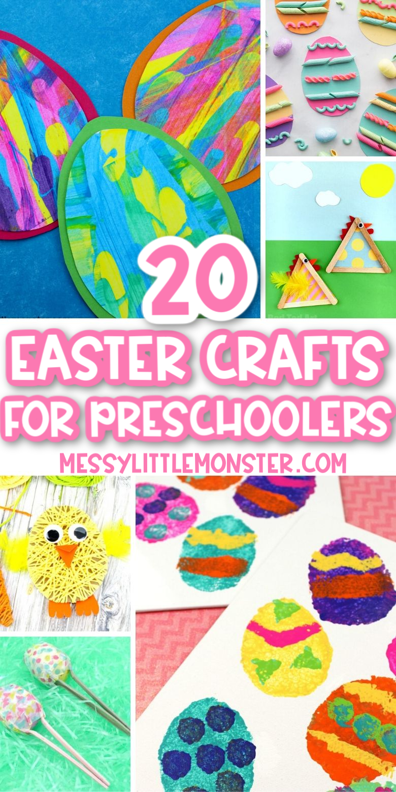 20 fun and easy Easter Crafts for Preschoolers