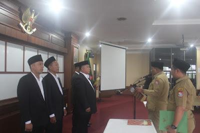 Kakankemenag Tanjungbalai Hadiri Pelantikan Pengurus Baznas Periode 2019-2024