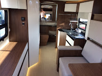 Leisure Travel Van Wonder Motorhome interior