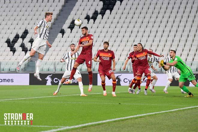 Video Juventus - AS Roma: Đại tiệc 4 bàn, ngược dòng gây sốc