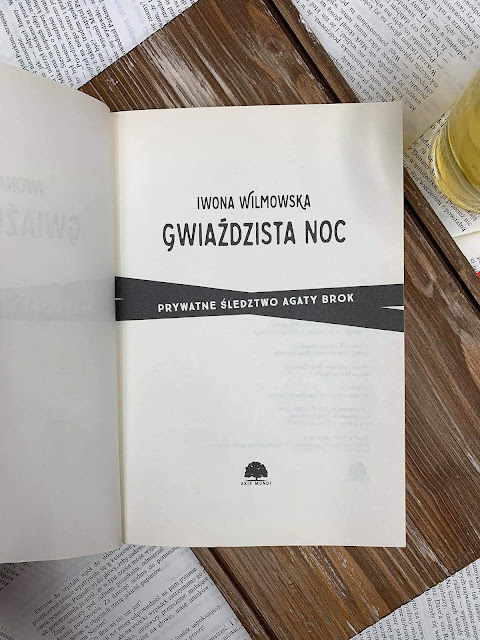 """""""Gwiaździsta noc"""" Iwona Wilmowska"""