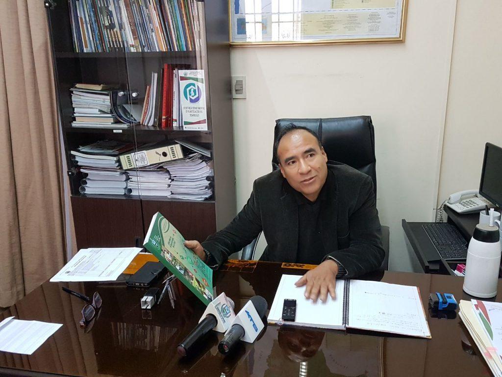 Secretario Departamental de Planificación del Desarrollo de la Gobernación paceña, Francisco Agramont / RADIO LÍDER