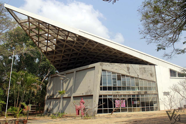 Sri Aurobindo Auditorium, Bharat Nivas complex-Pavilion of India