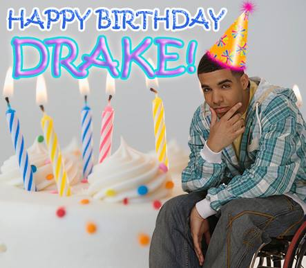 Drake's Birthday Wishes Images