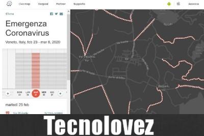 Coronavirus - Ecco come evitare le aree di contagio in Italia con Waze