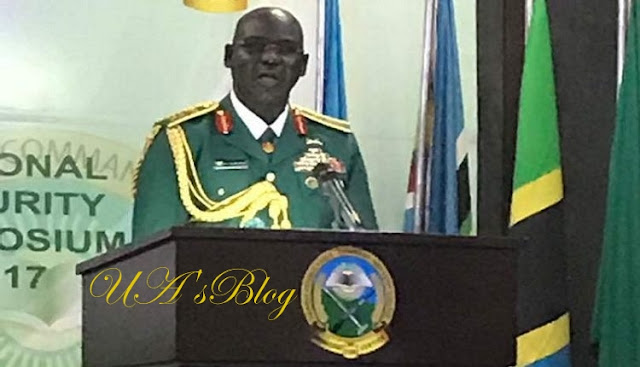 Buratai Pledges Army's Loyalty To President Buhari, Commitment To Defend Democracy