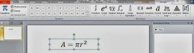 menulis rumus matematika