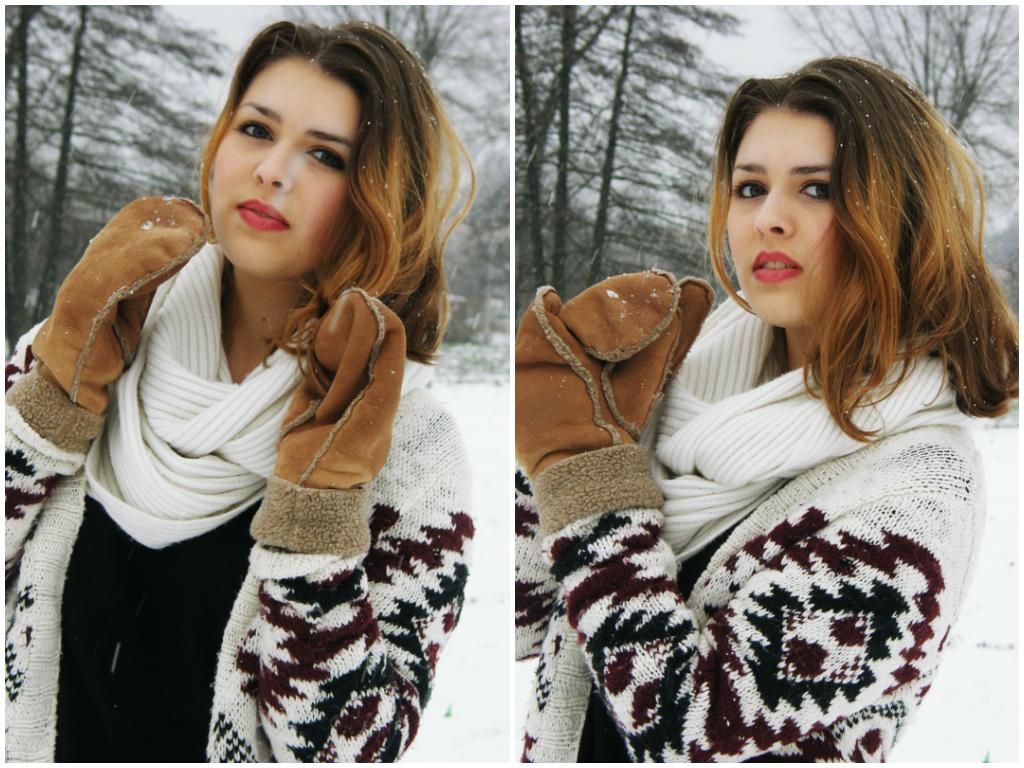 Śnieżno biało :)