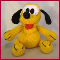 Pluto bebé amigurumi