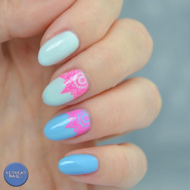 swatch thermal nail polish