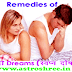 Wet Dreams Remedies (स्वप्न दोष ) | Best Solutions