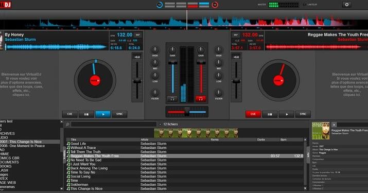 virtual dj home free logiciel de mixage audio sur windows. Black Bedroom Furniture Sets. Home Design Ideas