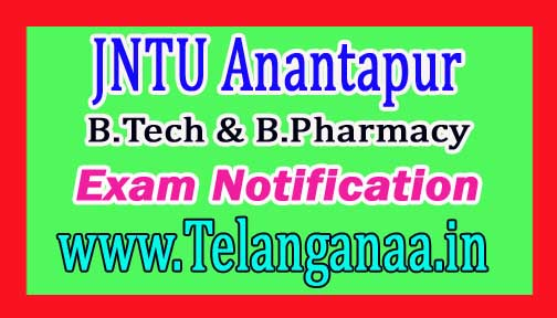 JNTU Anantapur B.Tech & B.Pharmacy Supply Dec 2016 Exam Postponed Exam Notification