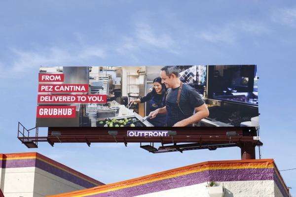 Pez Cantina GrubHub billboard