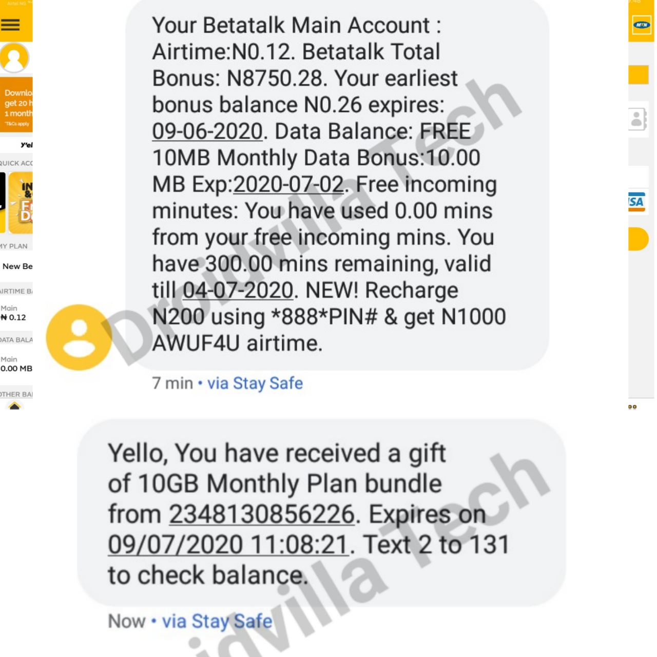 MTN Data Airtime Cheat