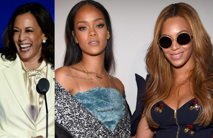 US Vice President-elect Kamala Harris, Beyoncé, and Rihanna make Forbes list of 2020's most powerful women