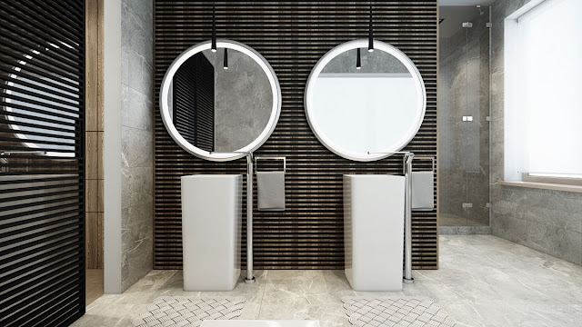 Pop Design For Bathroom