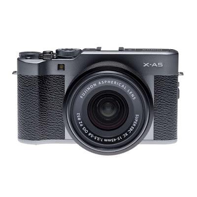 Fujifilm X-A5ミラーレスデジタルカメラファームウェアのダウンロード