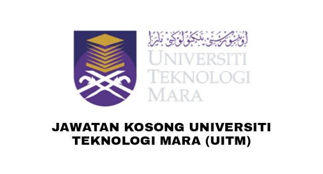 Jawatan Kosong Universiti Teknologi MARA (UiTM) 2021