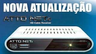 Freesatelital Atto Net 4 Nova atualização - 13/09/2016