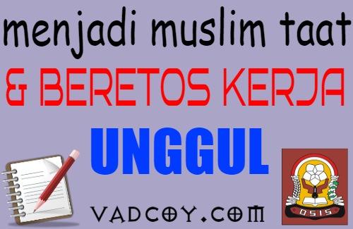 Soal Latihan PAI Kelas 11 Materi Muslim Taat dan Beretos Kerja Unggul