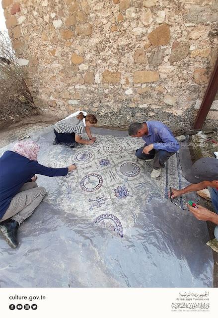 اكتشاف 4 لوحات فسيفسائية تنبئ بمكنونات أثرية قيّمة