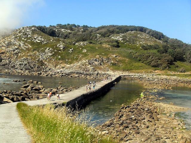 el Lago de las islas Cies galicia