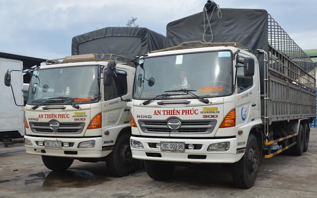 Dịch vụ vận tải hàng hóa tại phú yên - An Thiên Phúc