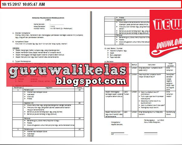 Download Perangkat Pembelajaran Bahasa Sunda Smp Kelas 7 8 9 Kurikulum 2013 Terbaru 2017