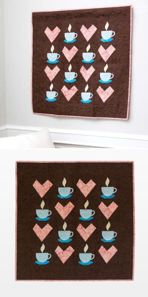 Brew Love Wall Hanging Pattern