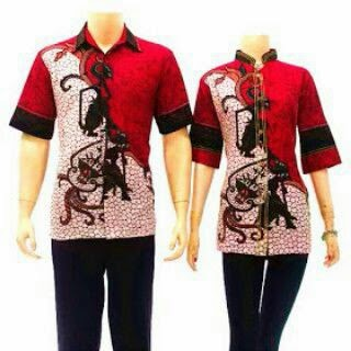 Model Baju Batik Couple Anak Muda 2