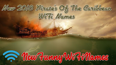pirates of caribbean wifi names