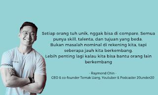 quote bisnis raymond chin